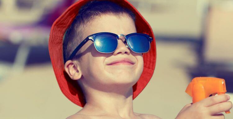 Protege a tus hijos de los efectos del sol