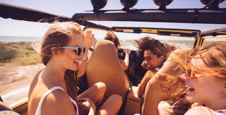 Consejos viajes en coche en vacacione
