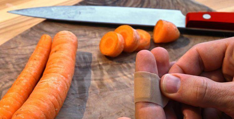 Como evitar los accidentes más comunes en la cocina