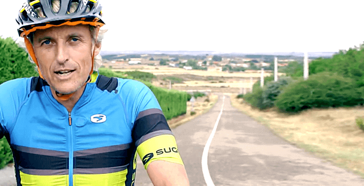 Consejos de Jesús Calleja sobre seguridad para ciclistas