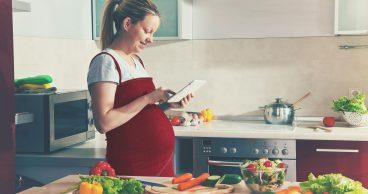 Dieta sana para futuras mamas